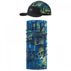 Комплект Buff UV Combo Caps Run, Logo Multi (BU 117191.555.10.00 / 117)