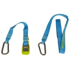 Стяжной ремень Sea To Summit Carabiner Tie Down 2 Pack Blue, 2 м (STS ACTD2)