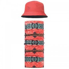Комплект Buff UV Combo Caps Travel Bucket, Collage Red (BU 117204.425.10.00 / 117)