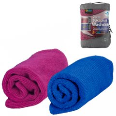 Набор полотенец Sea To Summit - Tek Towel 2 WashCloths Berry/Cobalt, 30 х 30 см (STS ATTWCBECO)