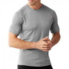 Футболка мужская Smartwool Merino 150 Baselayer Pattern Short Sleeve Light Gray, р.M (SW 14050.039-M)
