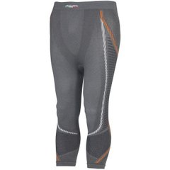 Термоштаны 3/4 мужские Accapi - Ergoracing 3/4 , Anthracite/Orange р. XS/S (ACC A775.967-XSS)