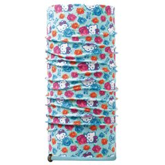 Шарф многофункиональный Buff Hello Kitty Child Polar, Roses Turquoise/Blue Capri (BU 113203.789.10.00)