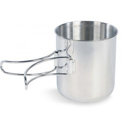 Кружка Tatonka Handle Mug 600, Silver (TAT 4073.000)