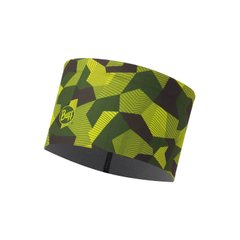 Повязка Buff Tech Fleece Headband, Block Camo Green (BU 115382.845.10.00)