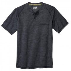 Футболка мужская Smartwool Everyday Exploration SS Henley Charcoal, р.L (SW 00272.003-L)
