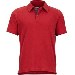 Футболка мужская Marmot Wallace Polo SS, Auburn Heather, р.M (MRT 43520.8483-M)