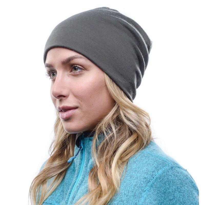 Buff Womens Solid HW Merino Wool Hat Loose One Size Raspberry
