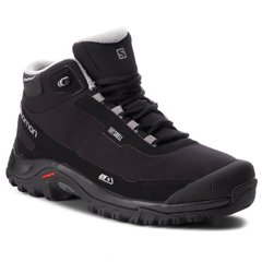 Ботинки мужские Salomon Shelter CS WP Black/Black/Frost Gray, р.44 (SLM SHELTER.404729-9,5)