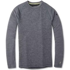 Термокофта мужская Smartwool Men's Merino Mid 250 Pattern Crew, Medium Gray Tick Stitch, р.L (SW SS601.B99-L)