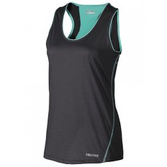 Майка женская Marmot Wm's Essential Tank Dark Steel / Ice Green, XS (MRT 57070.1371-XS)