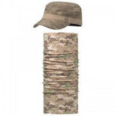 Комплект Buff UV Combo Caps Military, Landscape Sand (BU 117237.302.30.00 / 100)