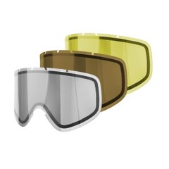 Набор сменных линз POC Iris Comp lens 3-pack Regular Brown/Transparent/SmokeyYellow (PC 410339213REG1)