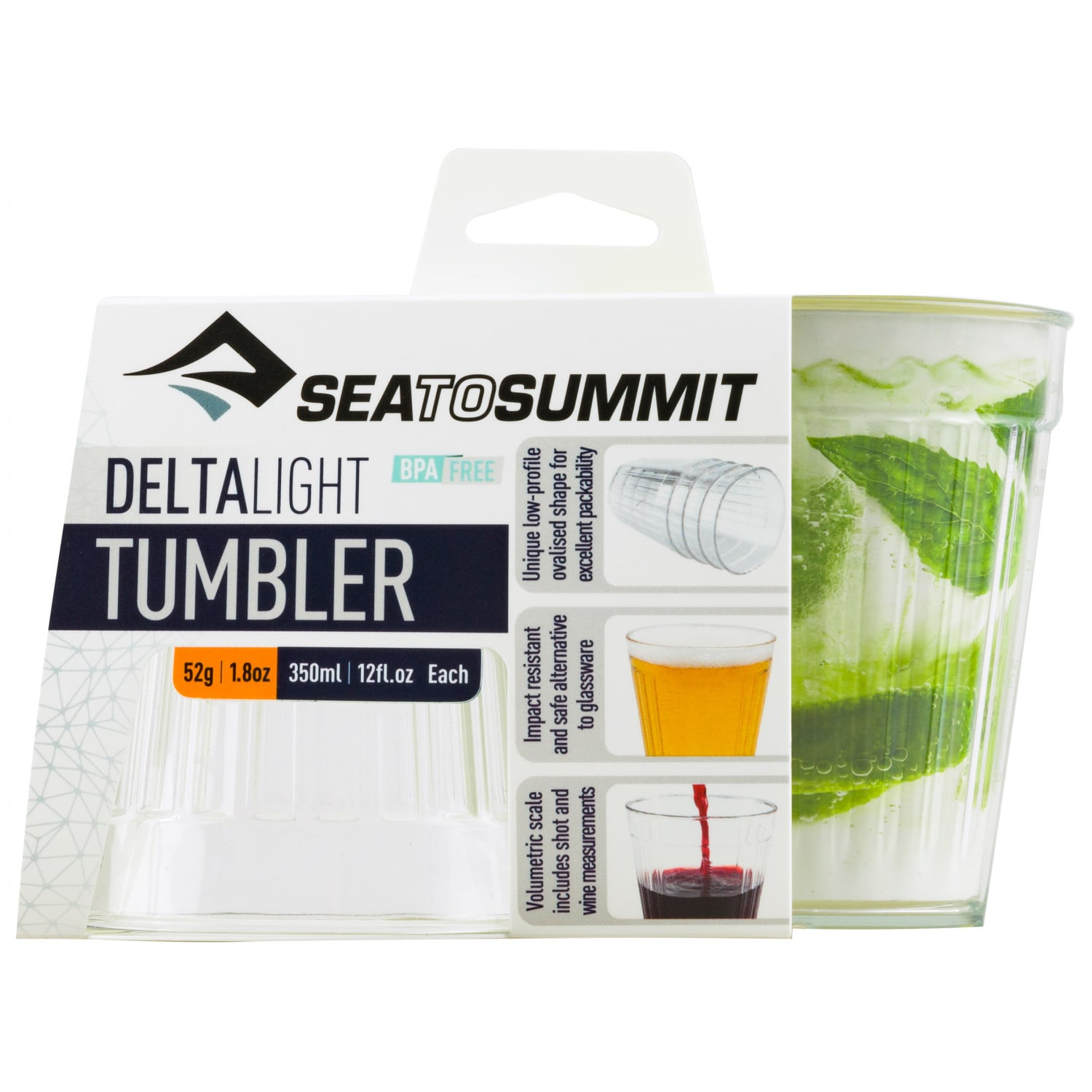 Sea to Summit DeltaLight Tumbler 2pk
