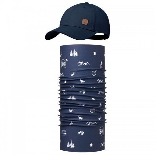 Комплект Buff - UV Combo Caps Baseball, Navy (BU 117197.787.10.00 / 113)