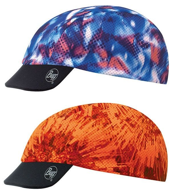 Кепка Buff - Cap Pro, Fleeting Blue - Orange Fluor (BU 111707.707.10.00)