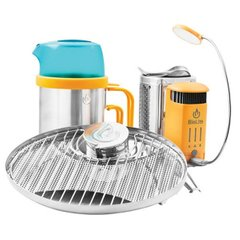 Горелка на дровах Biolite - CampStove 2 Bundle Silver/Orange (BLT CSX2001)