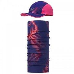Комплект Buff - UV Combo Caps Run, Optical Pink (BU 117192.538.10.00 / 117)