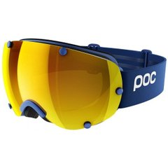 Маска горнолыжная POC Lobes Clarity Basketane Blue/Spektris Orange, р.One (PC 401238173ONE1)