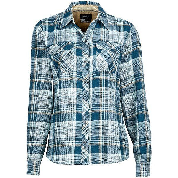 Рубашка женская Marmot - Wm's Bridget Flannel LS Denim, S (MRT 58700.200-S)