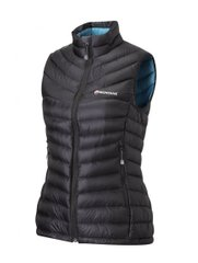 Жилет Montane - Female Featherlite Down Vest, Black, р.S/10/36 (FFEDVBLA)