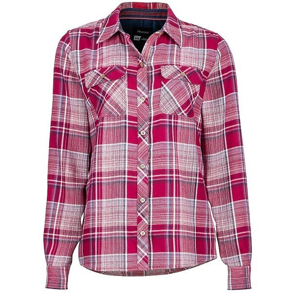 Рубашка женская Marmot - Wm's Bridget Flannel LS Red Dahila, S (MRT 58700.6817-S)