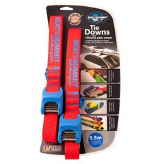 Стяжной ремень Sea To Summit - Tie Down with Silicone Cover Double Pack Blue, 5.5 м (STS SOLTDSCDP55)