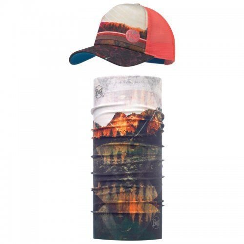 Комплект Buff - UV Combo Caps Trucker, Collage Multi (BU 117241.555.10.00 / 117)