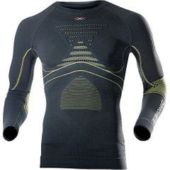 Кофта мужская X-Bionic - Accumulator Evo Men Shirt LS Charcoal/Yellow, р.XXL (XB I20216.X4J-XXL)