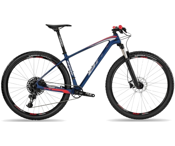 Велосипед горный BH Ultimate RC 6.5 Navy/Gray/Red, р.L (BH A6599.Z82-L)