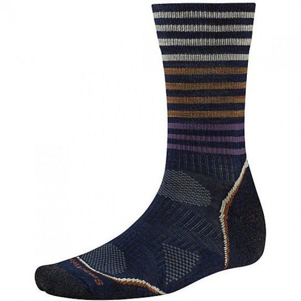 Носки мужские Smartwool PhD Outdoor Light Pattern Crew Navy, р.M (SW SW219.201-M)