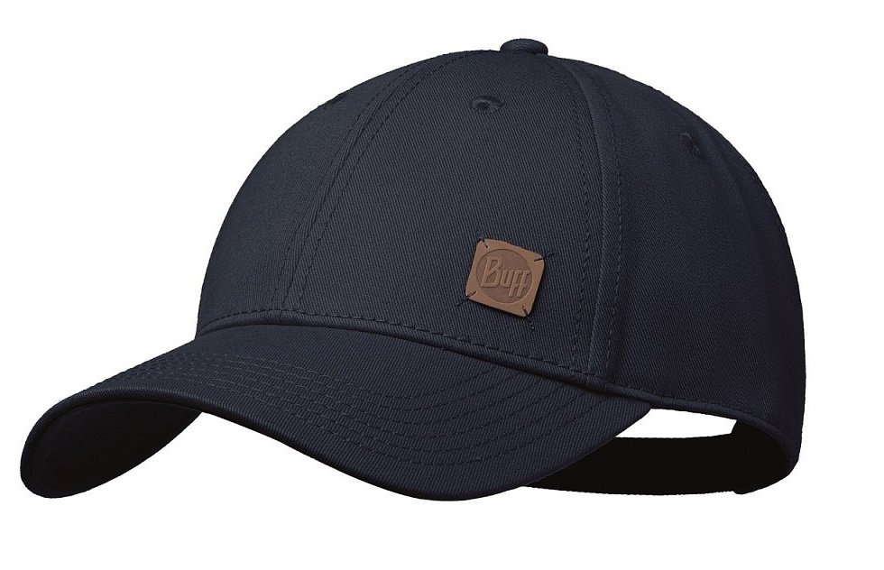 Кепка Buff - Baseball Cap, Solid Black (BU 117297.999.10.00)