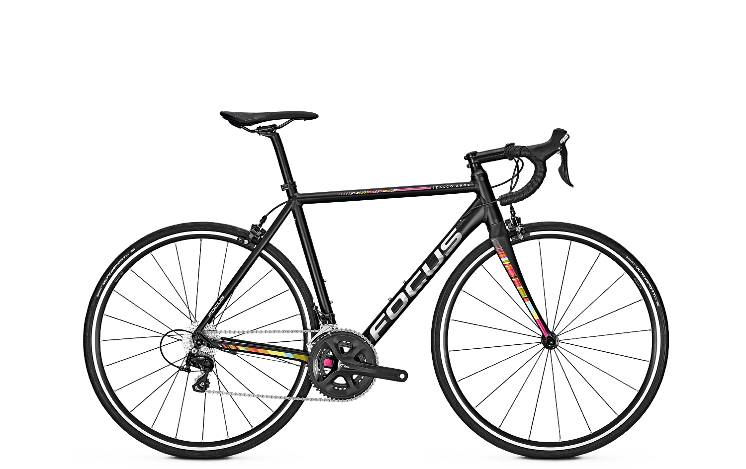 "Велосипед шоссейный Focus - Izalco Race Al 105 22G 28"" 57/L Freestyle Black L (FCS 628012403)"