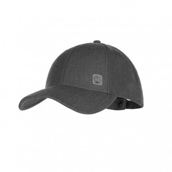 Кепка Buff - Baseball Cap, Solid Grey (BU 117297.937.10.00)