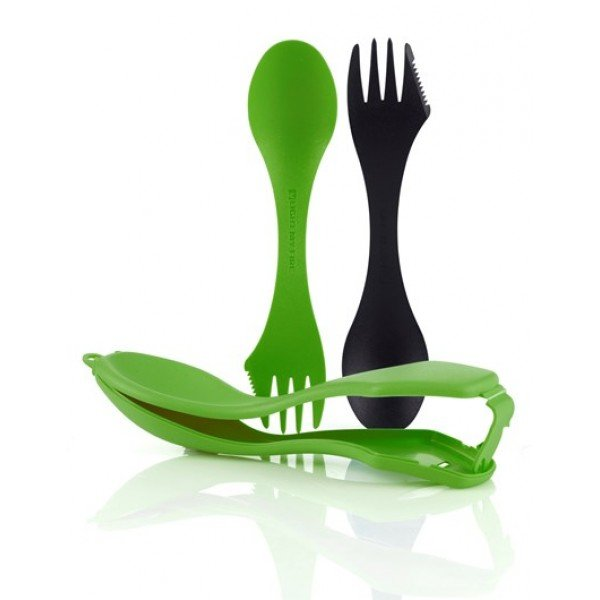 Ложки в чехле Light My Fire - Sporks'n Case 2 Black/Green (LMF 41444713)