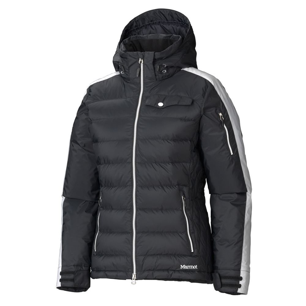 Куртка женская Marmot - Wm's Zermatt Jacket Black / White, XS (MRT 75870.1007-XS)