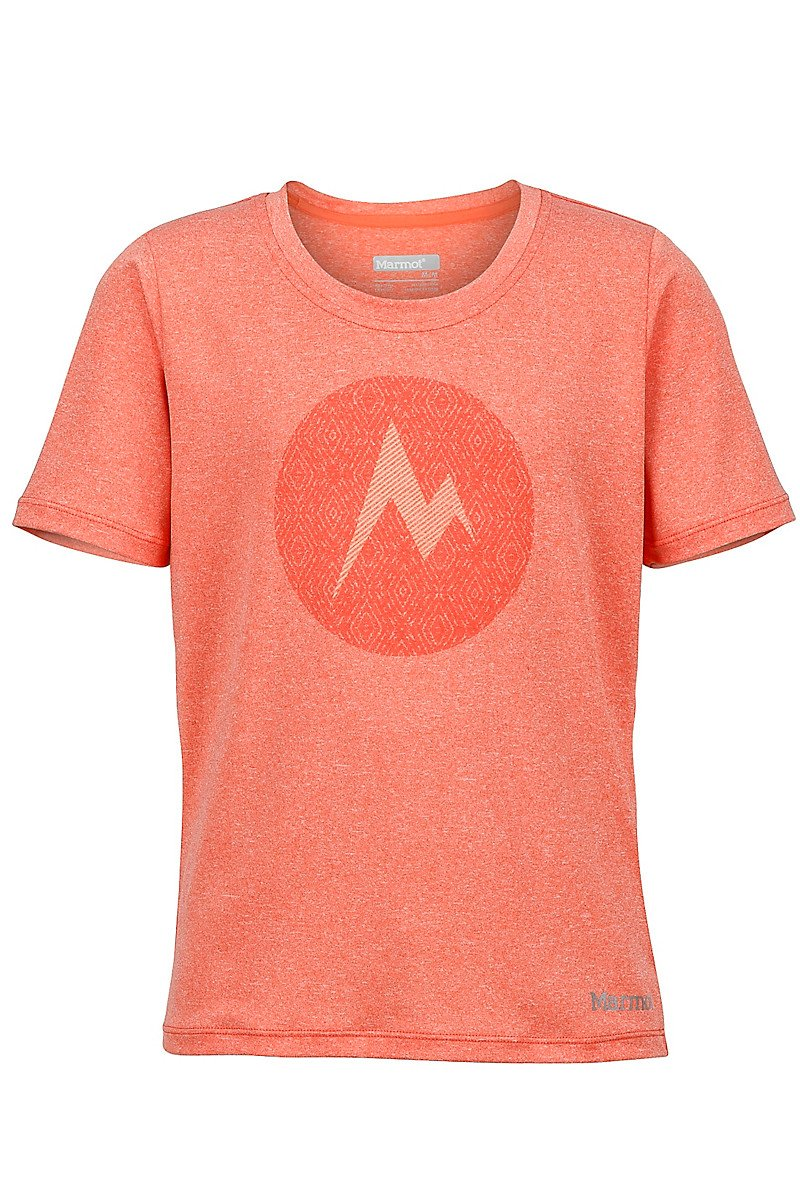 Футболка для девочки Marmot - Girl's Post Time Tee SS Emberglow Heather, L (MRT 57910.7678-L)