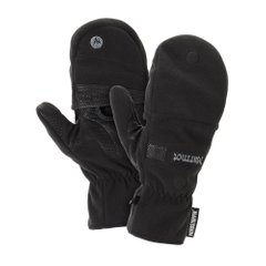 Перчатки мужские Marmot - Windstopper Convertible Glove, True Black, р.S (MRT 15440.001-S)