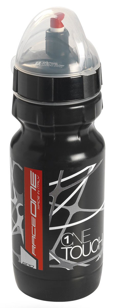 Фляга Raceone - Bottle Onetouch Black/Black, 600 мл (RCN 1OT600BB)