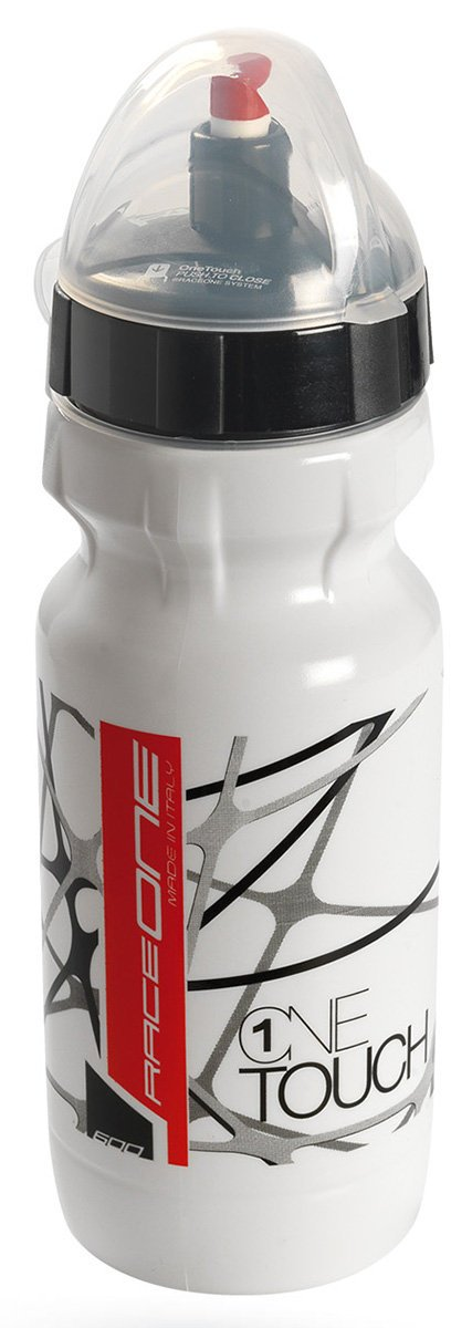 Фляга Raceone - Bottle Onetouch White/Black, 600 мл (RCN 1OT600BW)
