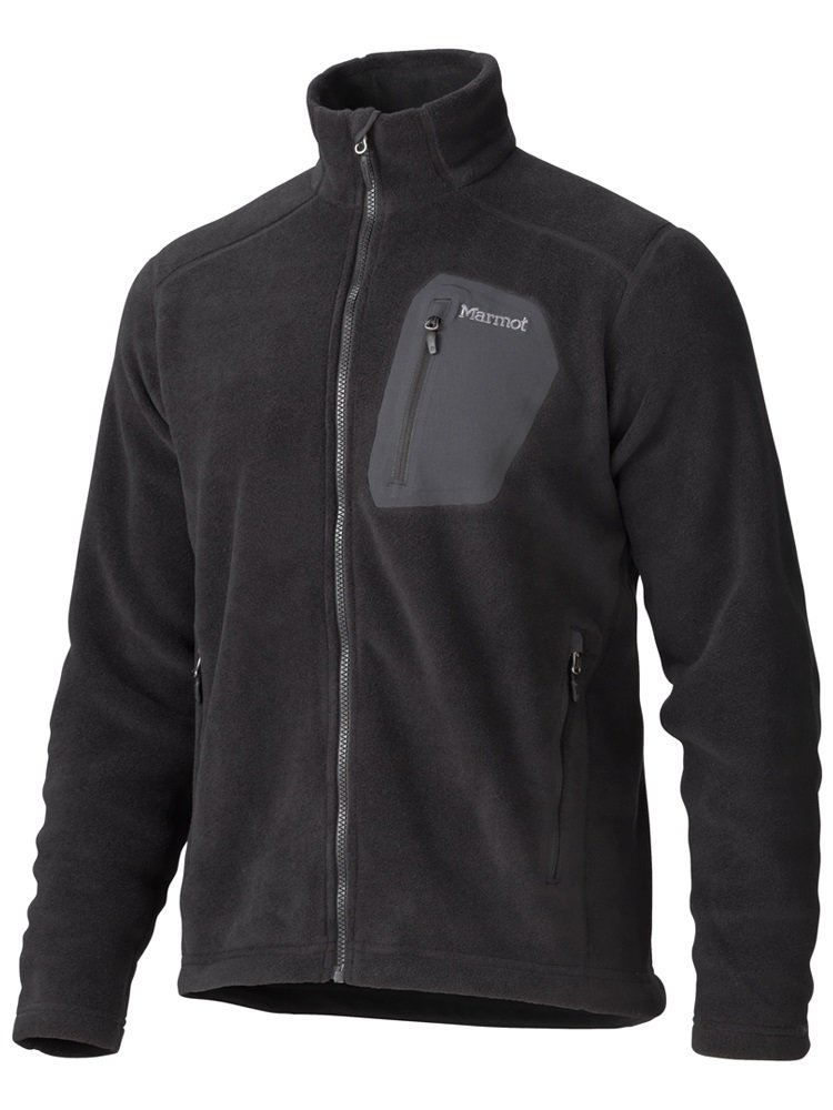 Кофта мужская Marmot - Warmlight Jacket Black, XXL (MRT 83270.001-XXL)