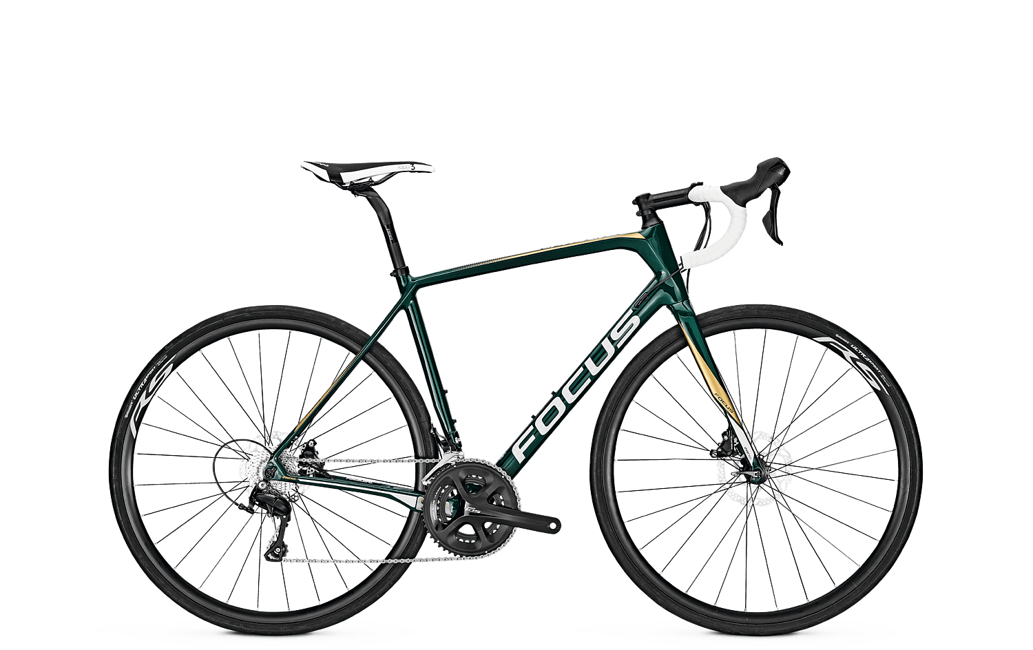 "Велосипед шоссейный Focus - Paralane 105 22G 28"" 54/M Racing Green M (FCS 628012542)"
