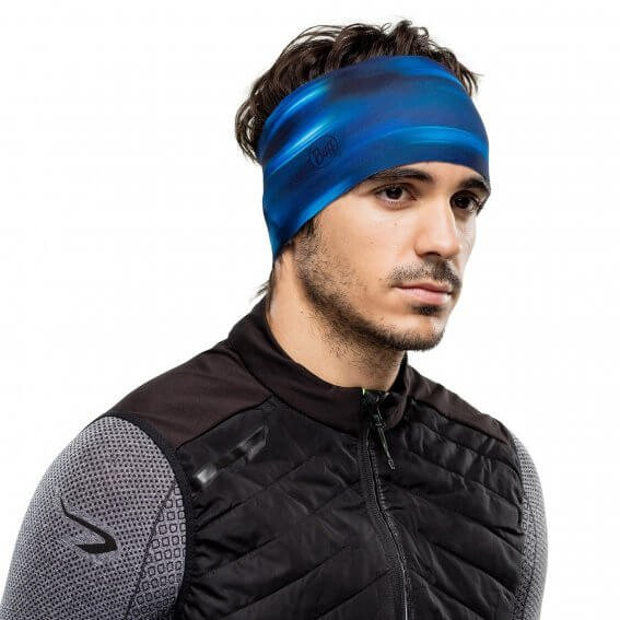 Повязка Buff - Tech Fleece Headband, Shading Blue (BU 118144.707.10.00)