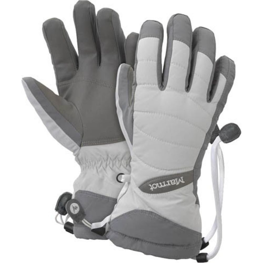 Перчатки женские Marmot - Wm's Moraine Glove, Glacier Grey, р.L (MRT 18190.1128-L)