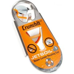 Инструмент для утилизации газовых баллонов Jetboil - Crunch-IT Fuel Canister Recycling Tool Gray (JB CRNCH)