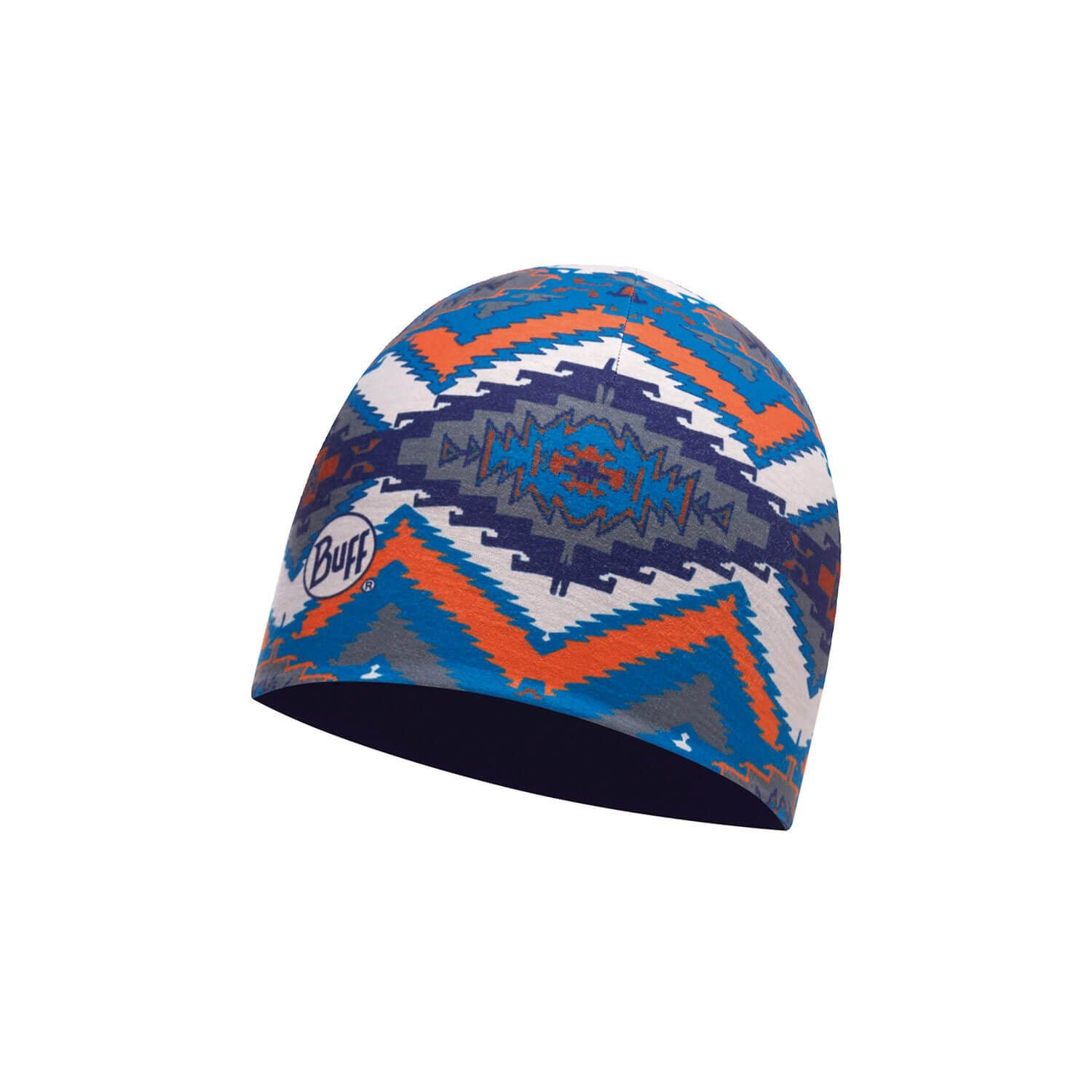 Шапка Buff - Coolmax Reversible Hat, Acoma Multi - Eclipse Blue (BU 113679.555.10.00)