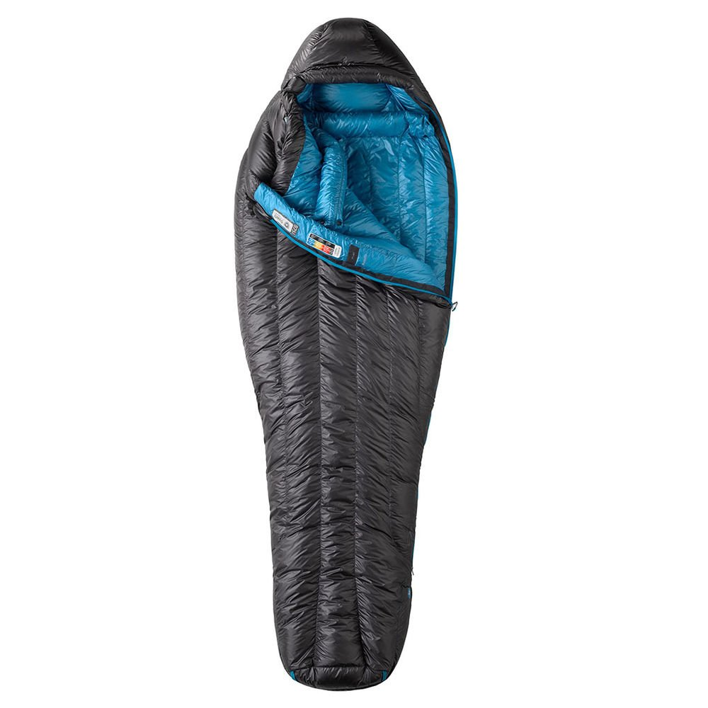 Спальный мешок Marmot - Plasma 15 Slate Grey / Atomic Blue, Left Zip (MRT 22320.1468-LZ)