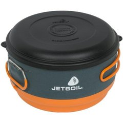 Кастрюля Jetboil - FluxRing Helios II Cooking Pot Black, 3 л (JB CCP300)