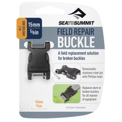 Пряжка Sea To Summit - Buckle Side Release 2 PIN Black, 15 мм (STS AFRB15SRPP)