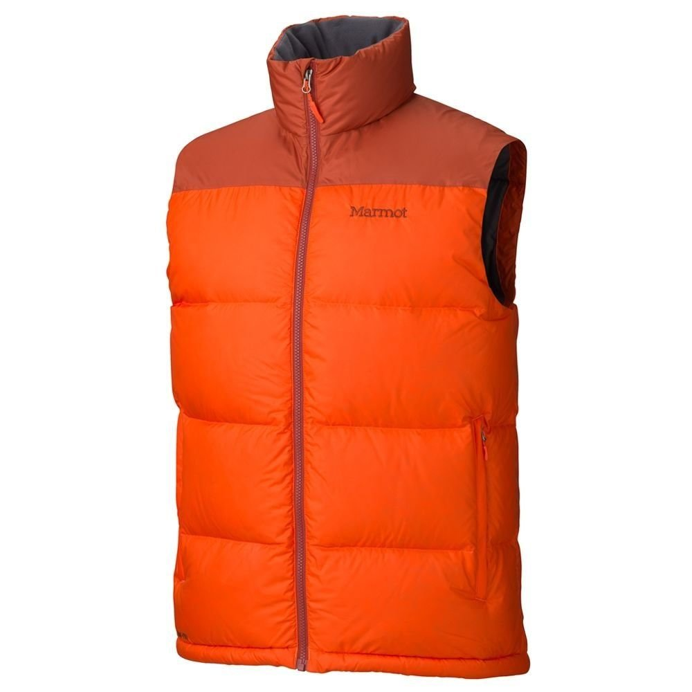 Жилет мужской Marmot - Guides Down Vest, Sunset Orange/Orange Rust, р.M (MRT 73110.9252-M)